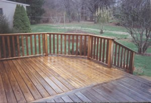 House and Deck Washing
